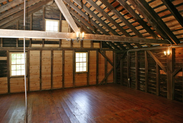 Second Floor of Carriage House