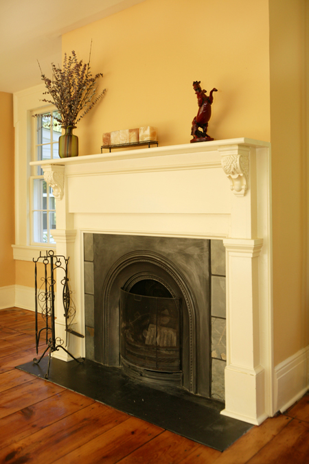 Victorian Arched Insert Fireplace